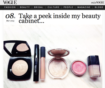 Vogue Australia Beauty Picks
